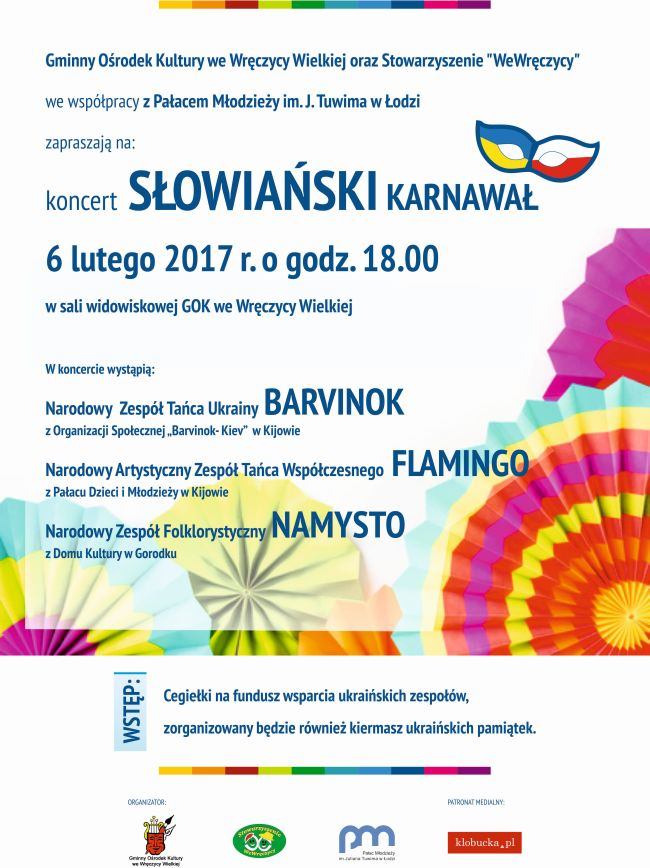PLAKAT SLOWIANSKI KARNAWAL