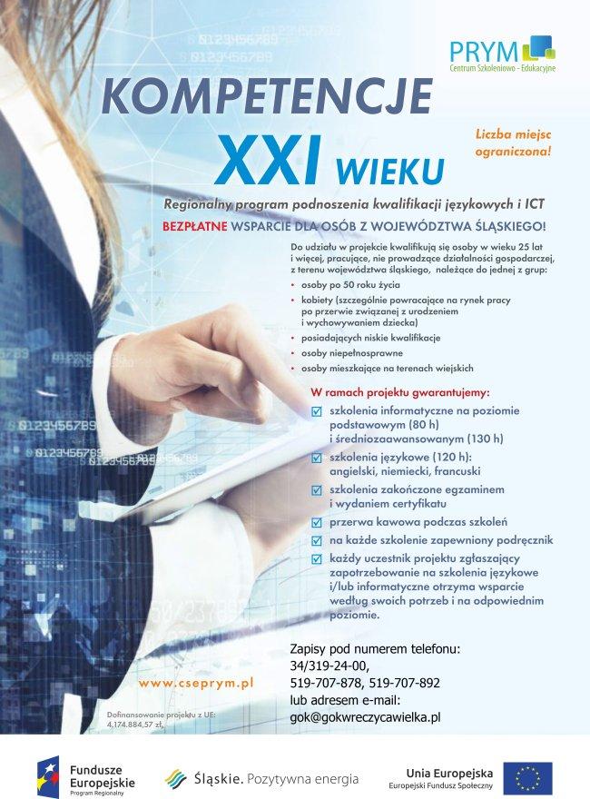 plakat szkolenie www