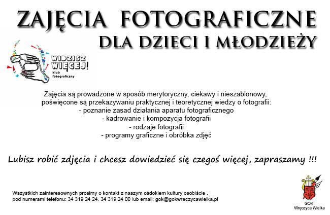zajecia foto