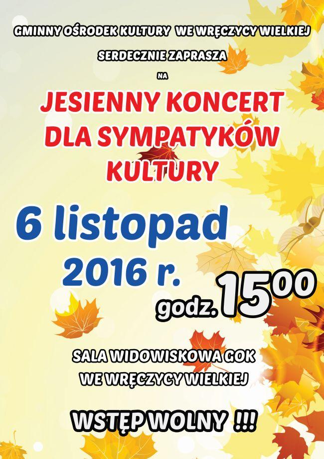plakat jesienny 2016